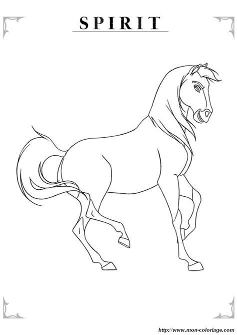 coloriage de cheval dessin coloriage cheval  colorier