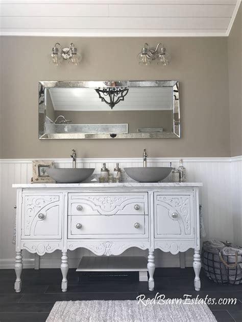 bathroom vanity double  single  custom convert