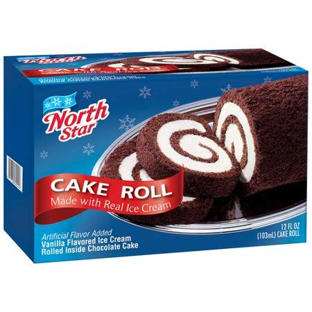 northstar ice cream cake roll  oz walmartcom