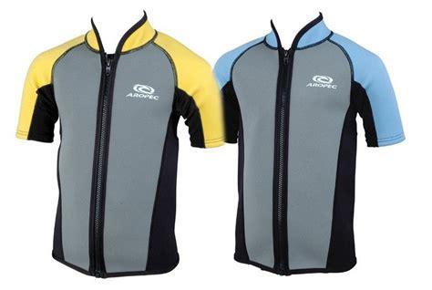 Aropec 'zip' 1.5mm Short Sleeve Swim Vest