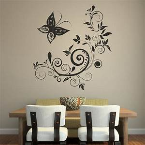 wall art wallpapers free With what kind of paint to use on kitchen cabinets for butterfly wall art stickers