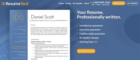 Resume Writing Site by Resumeyard Review Resume Writing Services Reviews