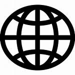 Web Website Globe Icon Wide Icons Transparent
