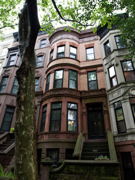 Brownstone Renovated Home by In Brownstone Future President Found A Home On