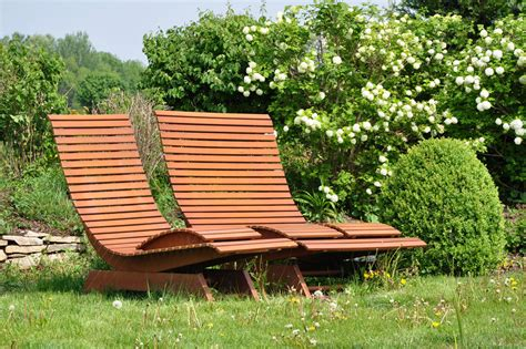 Holz Gartenbank Selber Bauen  nowaday garden
