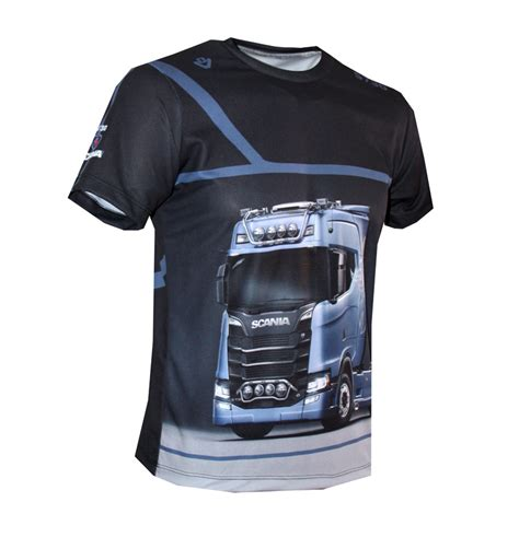 scania  shirt  logo    printed picture