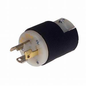 Twist Lock Plug Male 125v 15amp Fuse