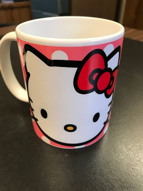 Choose from contactless same day delivery, drive up and more. Personalized Hello Kitty Polka Dot Coffee Mug - Hidden Hand Graphics