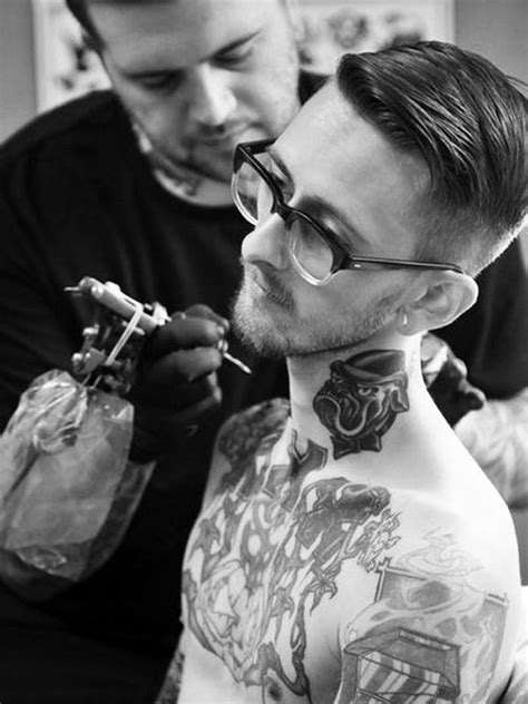 75+ Best Neck Tattoos For Men and Women - Designs & Meanings (2019)