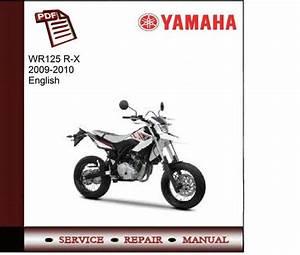 Yamaha Wr125 R-x 2009-2010 Service Manual
