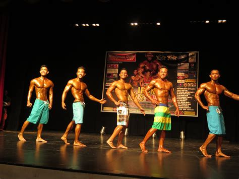 Mr Iron Man 2015 Competition For Regional Championship