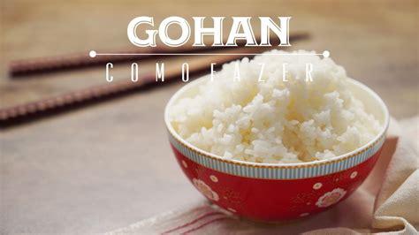 como fazer arroz japones gohan  molho shari receita