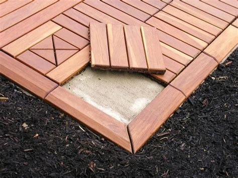 restore your concrete patio with an overlay of modular