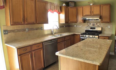 Backsplash Trends :  Kitchen Counters And Backsplash Trends Also