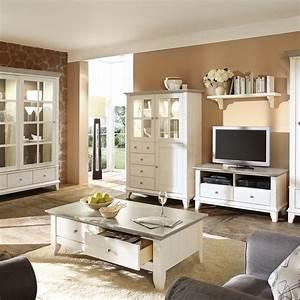 Wohnzimmerschrank Kreta Im Landhausstil Kiefer Wohnen