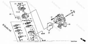 Honda Small Engine Parts Gx35 Oem Parts Diagram For
