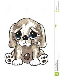 Big Sad Puppy Dog Eyes Cartoon