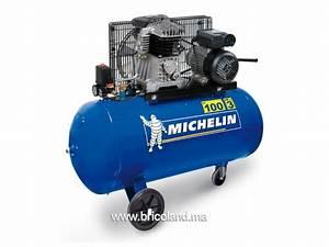 Compresseur D Air 100 Litres : bricoland outillage bricolage compresseur d 39 air 100 litres 10 bar mb100 michelin ~ Medecine-chirurgie-esthetiques.com Avis de Voitures