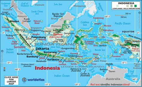 indonesia facts  largest cities populations symbols