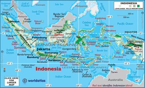 indonesia latitude longitude absolute  relative