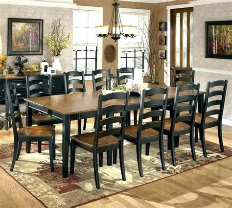ashley furniture hyland piece dining set  rectangular