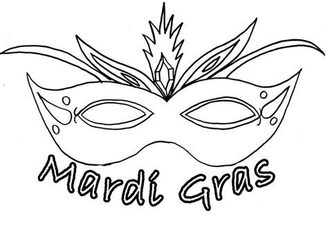 mask coloring pages    print