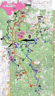Black Hills Snowmobile Trail Map