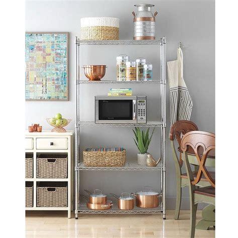 shop chrome plated metal  shelf pantry shelving  sale