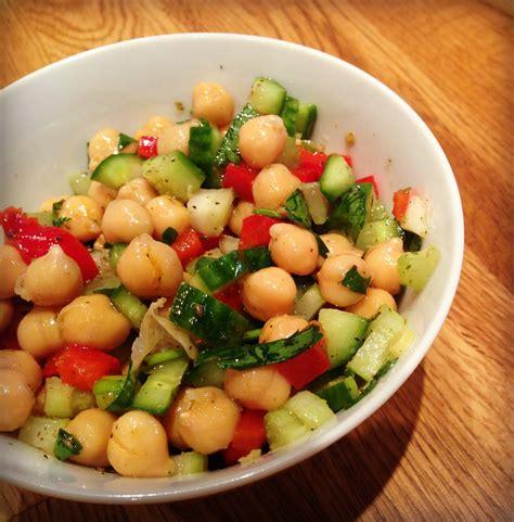 recette de cuisines salade de pois chiche et zaatar urbaine city