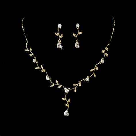 Embrace Vine & Cz Bridal Jewelry Set  Elegant Bridal Hair