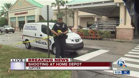 1 Shot, Another Robbed Outside Jupiter Home Depot