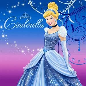 Disney Cinderella Sparkle Lunch Napkins | BirthdayExpress.com  Cinderella