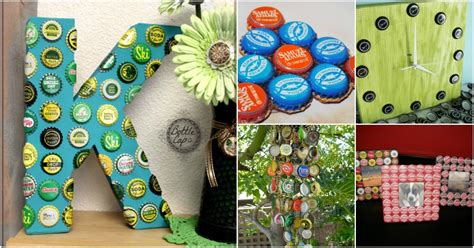 bottle cap upcycling projects  add flair