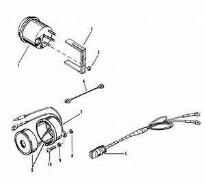 Mercury Mariner Racing Mercury Xr2 Tachometer  U0026 Alarm Horn