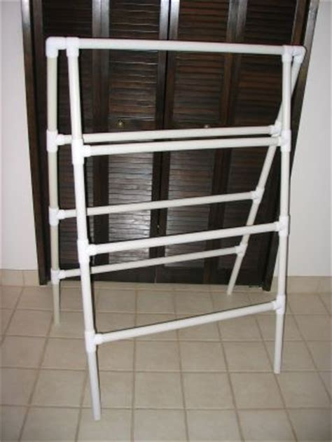 pvc towel rack 10 diy laundry drying racks for small spaces