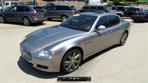 2009 Maserati Quattroporte For Sale by 2009 Maserati Quattroporte For Sale Bigescar