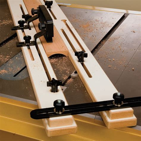 cove cutting table  jig rockler woodworking  hardware