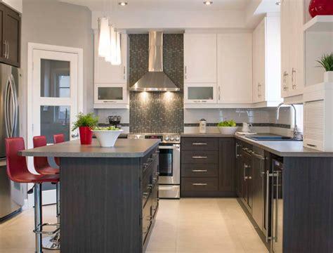 cuisine armoire brune comptoir de cuisine blanc amrique cuisine blanc rtroclair