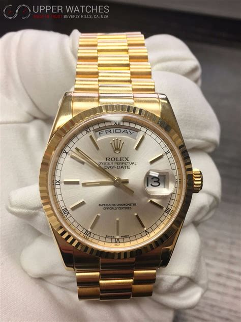 Rolex President Gold Day-Date 118238 - Upper Watches