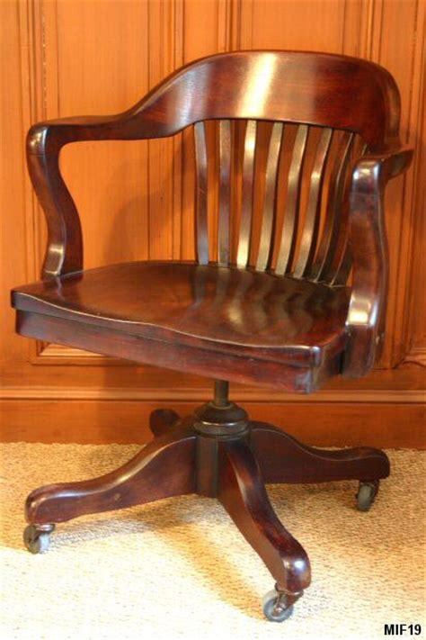 chaise bureau fauteuil de bureau de type américain origine usa vers 1930
