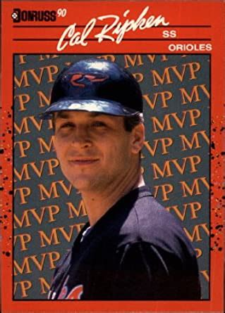 If the cards are in good condition, get a soft sleeve for modern cards and a magnetized case for. Amazon.com: 1990 Donruss Bonus MVP's Baseball Card #BC18 Cal Ripken Near Mint/Mint: Collectibles ...