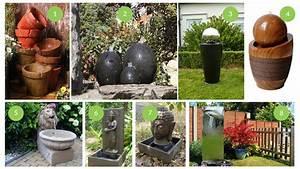 Fabriquer Une Fontaine Sans Pompe : des fontaines d 39 ext rieur en circuit d 39 eau ferm pour un jardin zen ~ Melissatoandfro.com Idées de Décoration