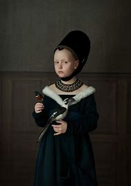 Old Master Painting Portrait Photography