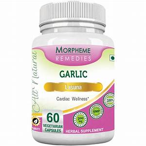 Garlic Capsules For Cardio  U0026 Cholesterol Support  U2013 Natural Home Remedies  U0026 Supplements