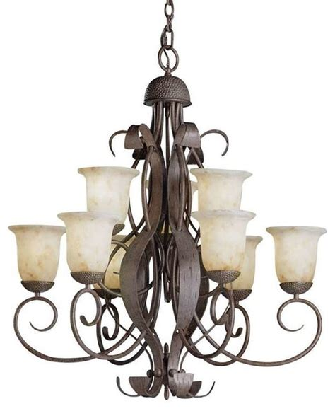 Lodge Chandeliers by Kichler Lighting 2109oi High Country Lodge Country Rustic