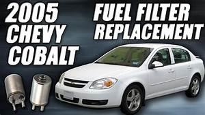 2005 Chevy Cobalt Fuel Filter Replacement  Tutorial