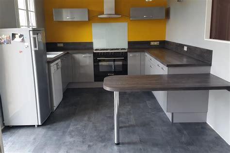 cuisine socoo c réalisations cuisine avec retour hauteur table de cuisines avec socoo c