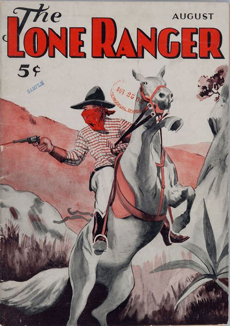 in the of the ranger lone ranger pulp covers