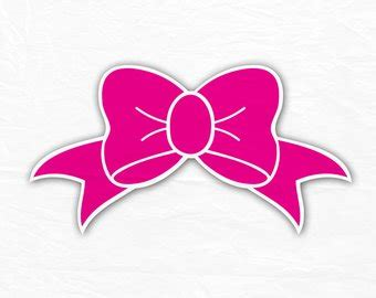 cricut bow silhouette cut files etsy