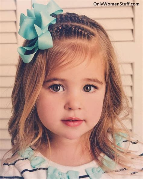 Pretty Kid Hairstyles by 30 Easy Hairstyles Ideas For